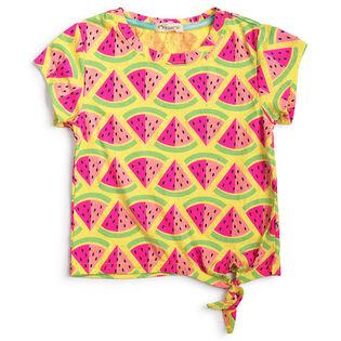 Junior Girls' [8-10] Watermelon Phing T-Shirt