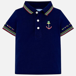 Baby Boys' [6-24M] Striped Polo