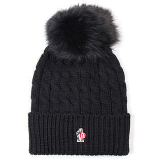 Women's Fur Pom Hat