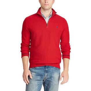 Men's Cotton Half-Zip Sweater