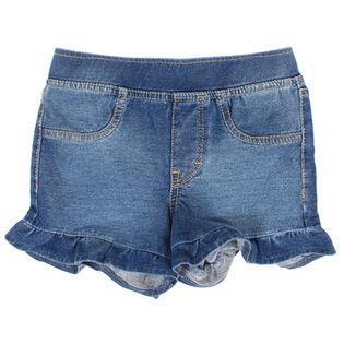 Girls' [4-6X] Stretch Ruffle Short