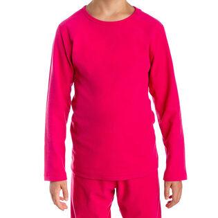 Haut à col rond Velvet Fleece pour juniors