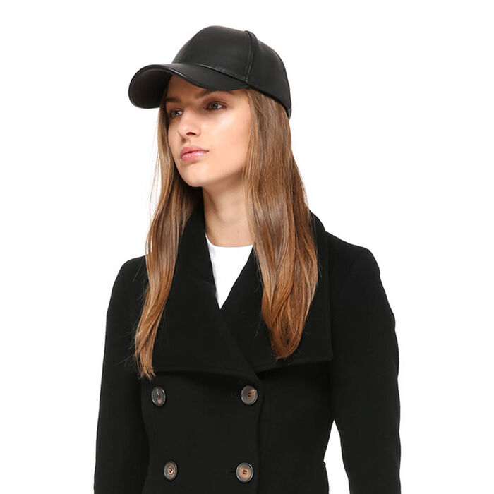 Women's Casper Leather Cap