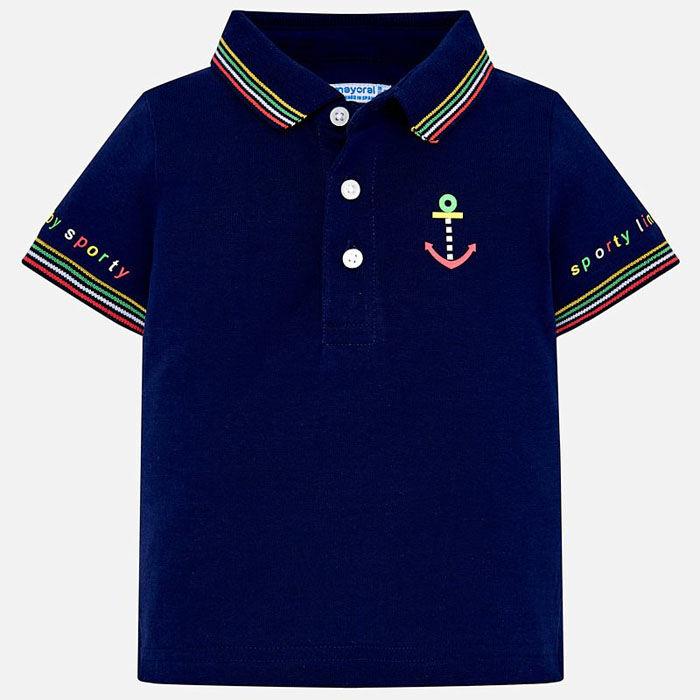 Baby Boys' [6-24M] Striped Polo