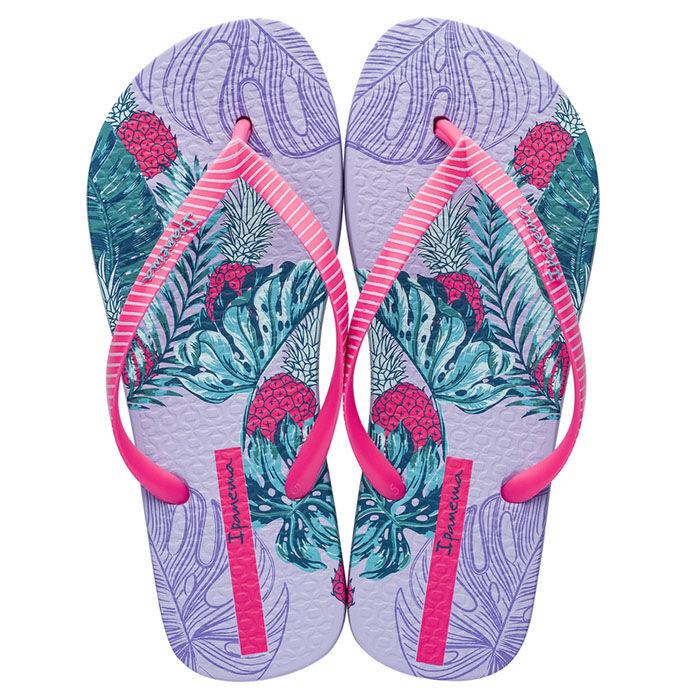 Sandales de plage à motif tropical pour femmes