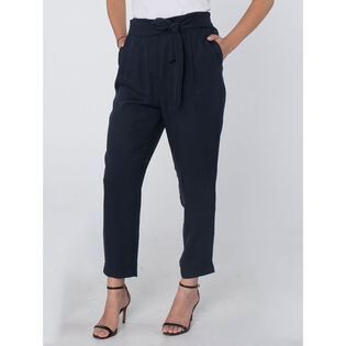 Women's Flowing Fixed Belt Pant
