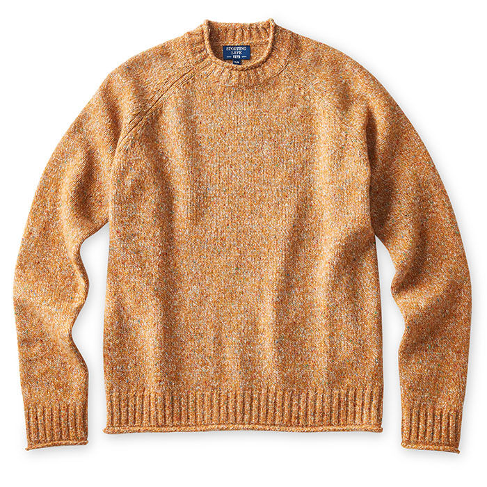 Men's Nep Roll Neck Crew Sweater
