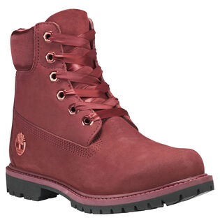 Women's 6-Inch Premium Satin Boot