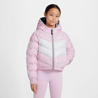 Veste à capuchon Sportswear avec rembourrage synthétique pour filles juniors [7-16]