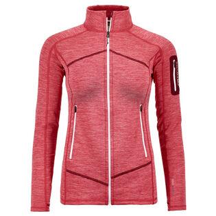 Women's Fleece Light Melange Jacket