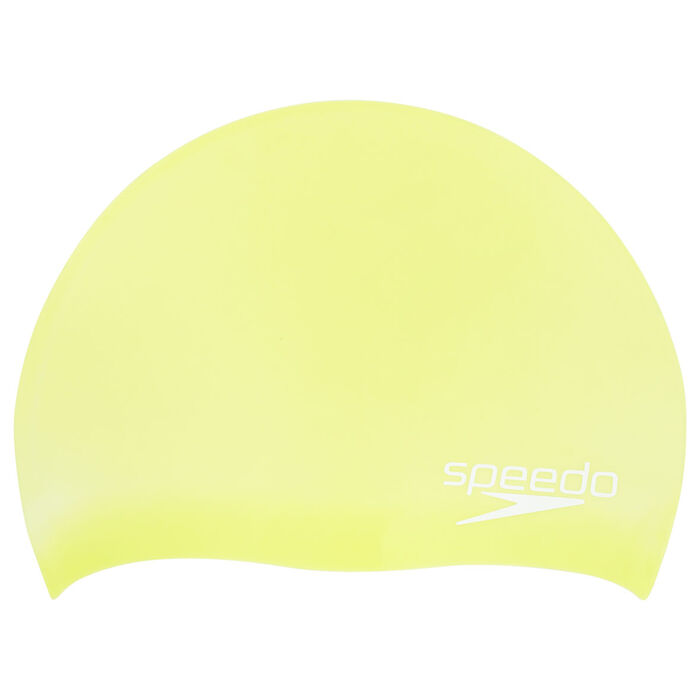 Juniors' Solid Silicone Swim Cap
