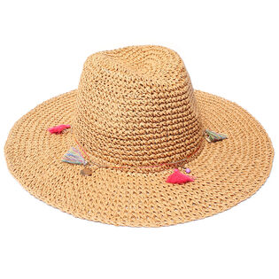 Women's Tassel Panama Beach Hat