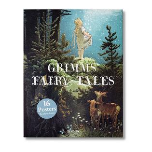 Grimms Fairy Tales Print Set