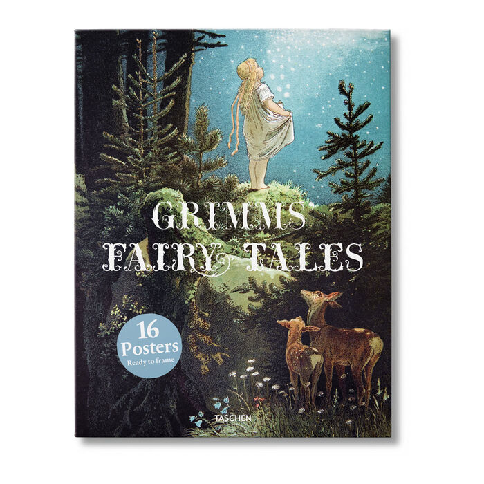Grimms Fairy Tales Print Set