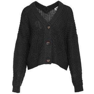 Women's Knit Crop Cardigan