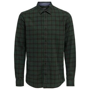 Chemise en flanelle à carreaux Emil pour hommes