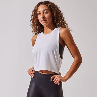 Women's Avid Natural Modal Cropped Tank Top