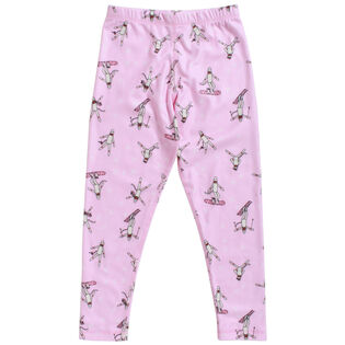 Junior [1-8] Unisex Fleece Print Pant