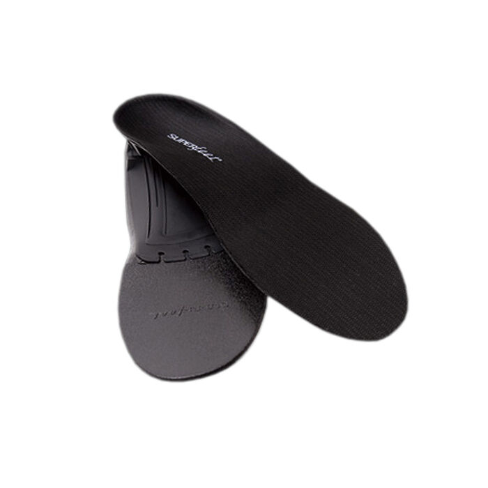 Black Trim-To-Fit Footbed
