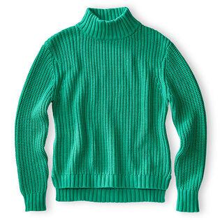 Women's Knit Mock Neck Sweater