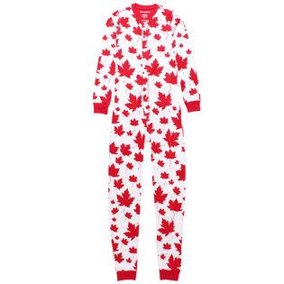 Kids' [2-14] Maple Leaves Union Suit