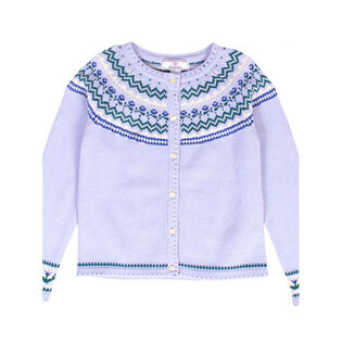 Girls' [2-8] Sage Cardigan