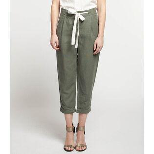 Women's Soft Tie Waist Jogger Pant