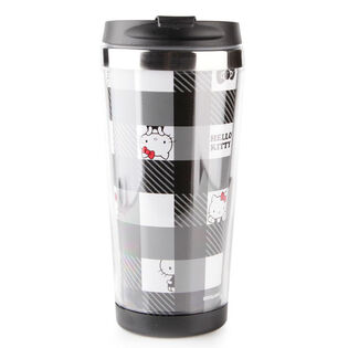 Black And White Collection Stainless Steel Bottle