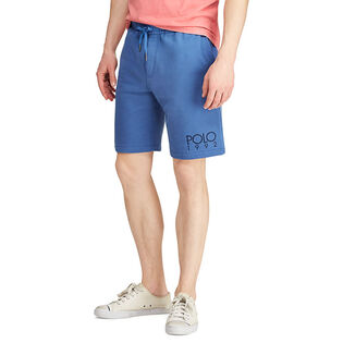 Men's Cotton-Blend Graphic Short