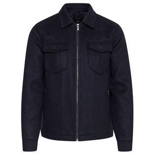 Men's Wool-Blend Felted Jacket