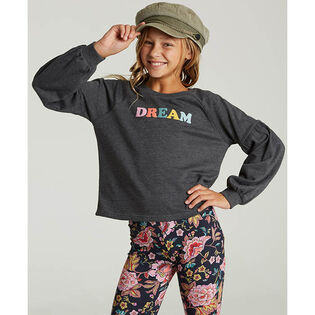 Junior Girls' [7-14] Full Bloom Sweatshirt