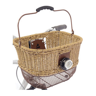 City-Wicker Dlx Front Basket