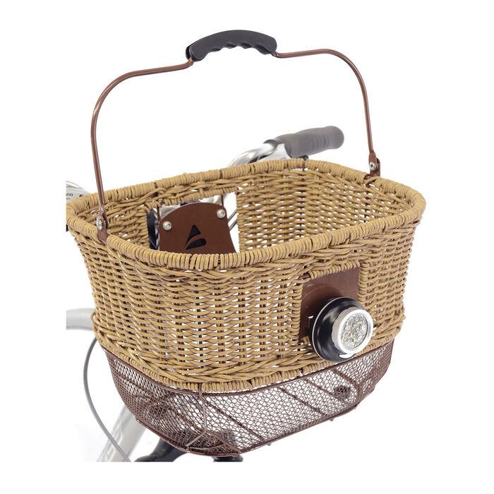 Panier pour vélo City-Wicker DLX
