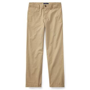 Pantalon chino en coton pour garçons juniors [8-20]