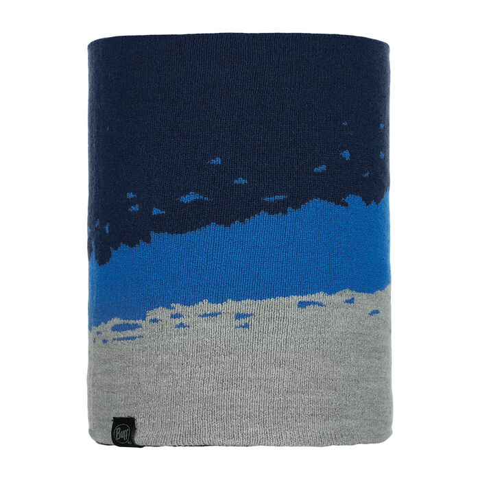 Tove Night Blue Knitted Neck Warmer