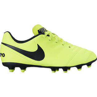 Juniors' [3.5-6] Tiempo Rio III Firm Ground Soccer Cleat