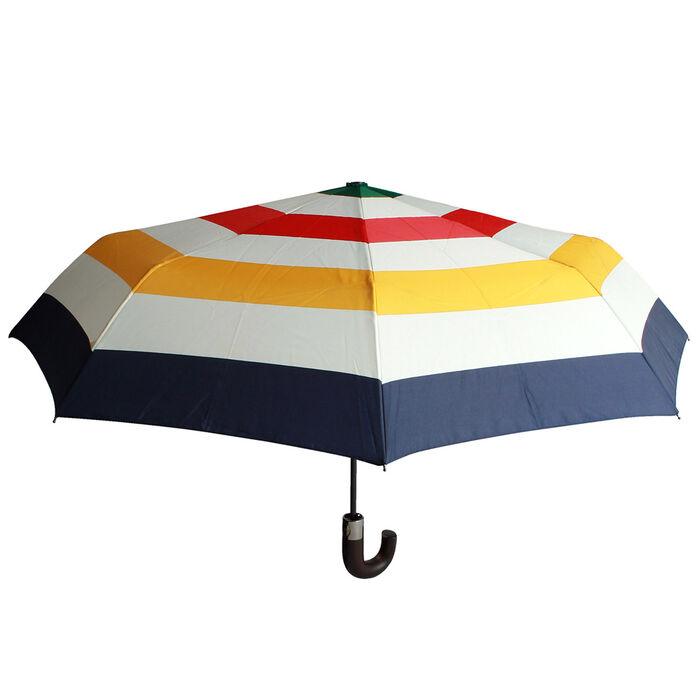 Multi Stripe Compact Umbrella