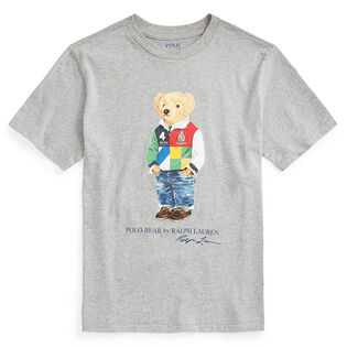 Junior Boys' [8-20] Polo Bear Cotton Jersey T-Shirt