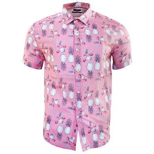 Men's Cotton Tencel Printed Shirt
