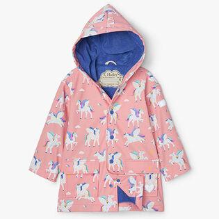 Girls' [2-8] Magical Pegasus Colour Changing Raincoat
