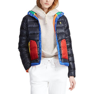 Women's Colourblocked Down Jacket