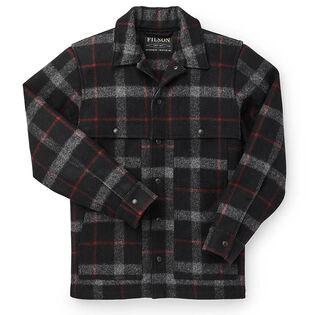 Men's Mackinaw Wool Cape Coat
