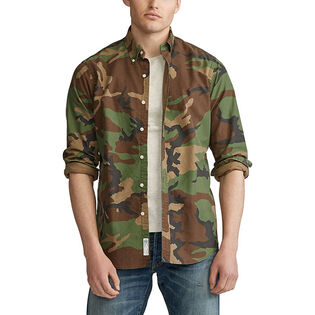 Men's Classic Fit Camo Oxford Shirt