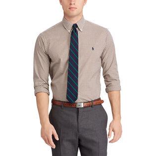 Men's Classic Fit Gingham Shirt
