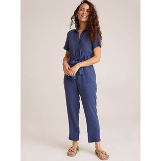 Women's Button Front Jumpsuit