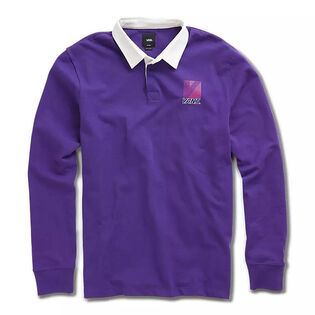 Men's Retro Sport Long Sleeve Polo
