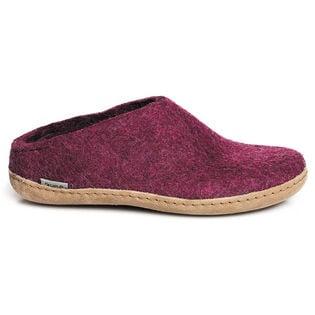 Pantoufles en laine Slip-on pour femmes