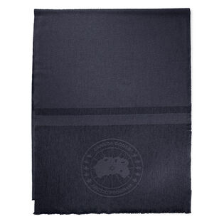 Grande écharpe à logo pour femmes