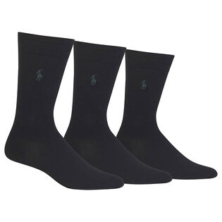 Men's Supersoft Dress Sock (3 Pack)