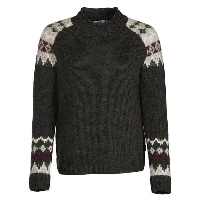 Women's Ruby Fair Isle Sweater